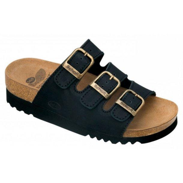 Fidelio sort sandal mhælrem